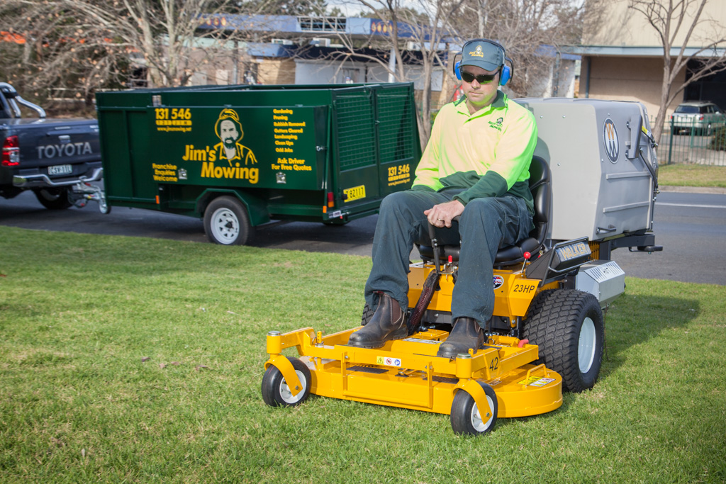 Jim's Mowing recruitment process includes trial days | Inside Franchise Business