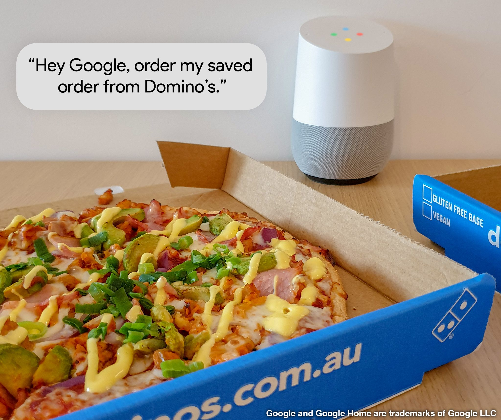 Domino's and Google speed up ordering   Inside Franchise Business