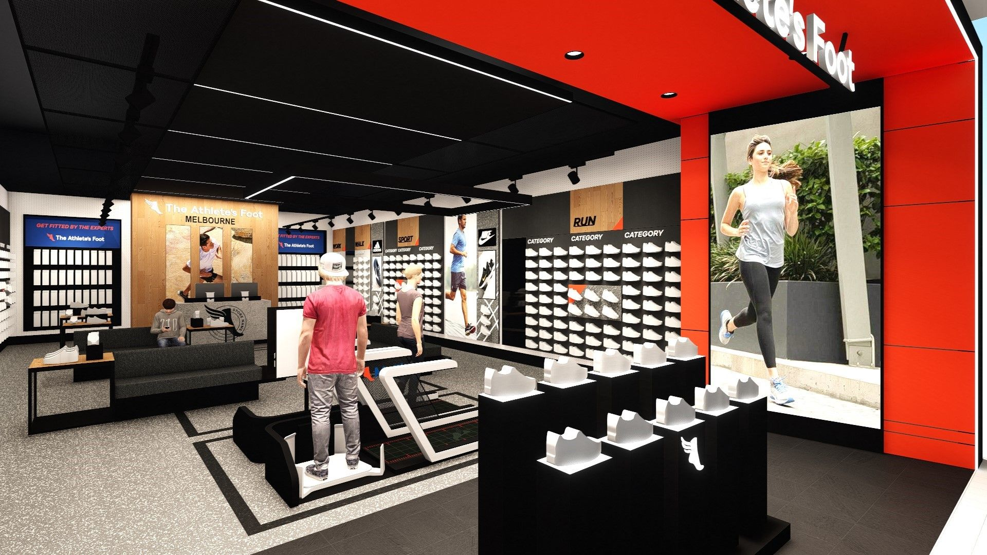 The Athlete's Foot unveiled its Melbourne Central flagship store | Inside Franchise Business
