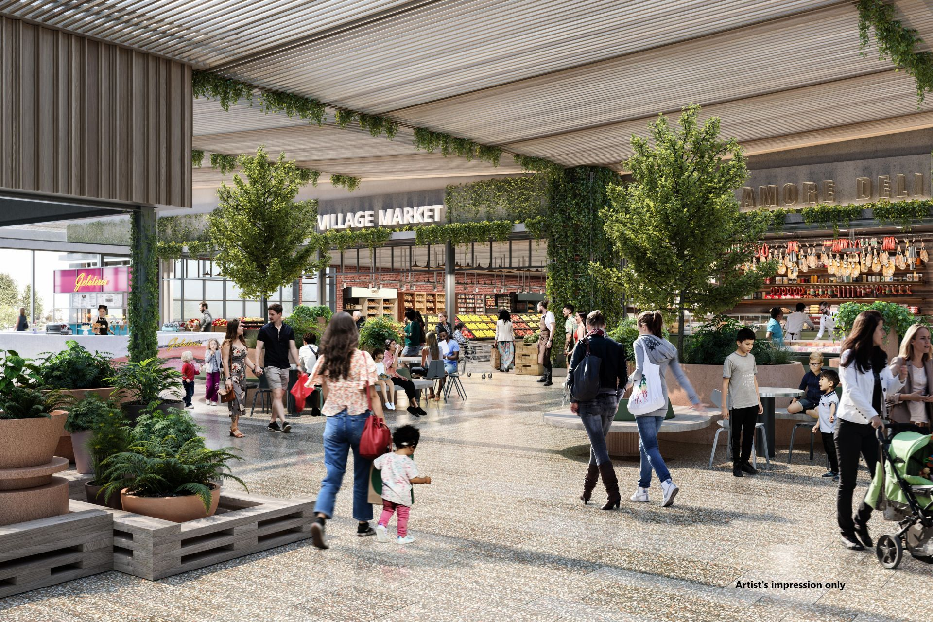 $50m food and dining precinct the Marketplace at Watergardens announced | Inside Franchise Business