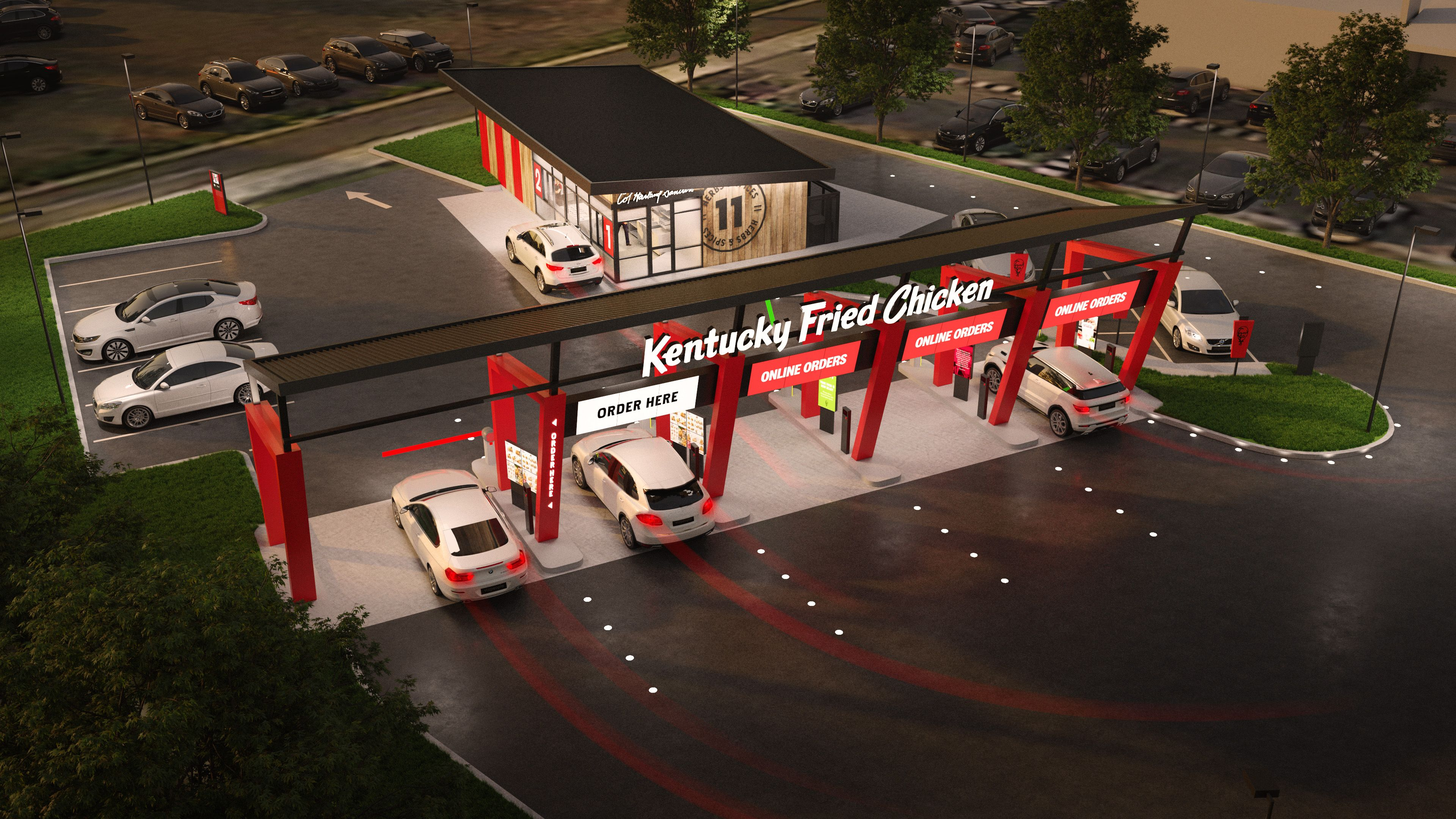 KFC drive-through only store concept | Inside Franchise Business