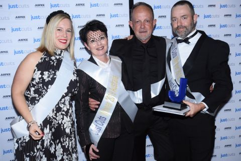 Cassandra and Damian Colefax celebrate their third top Just Cuts award | Inside Franchise Business