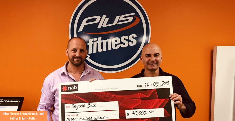 Plus Fitness franchisors Nigel Miller and John Fuller | Inside Franchise Business