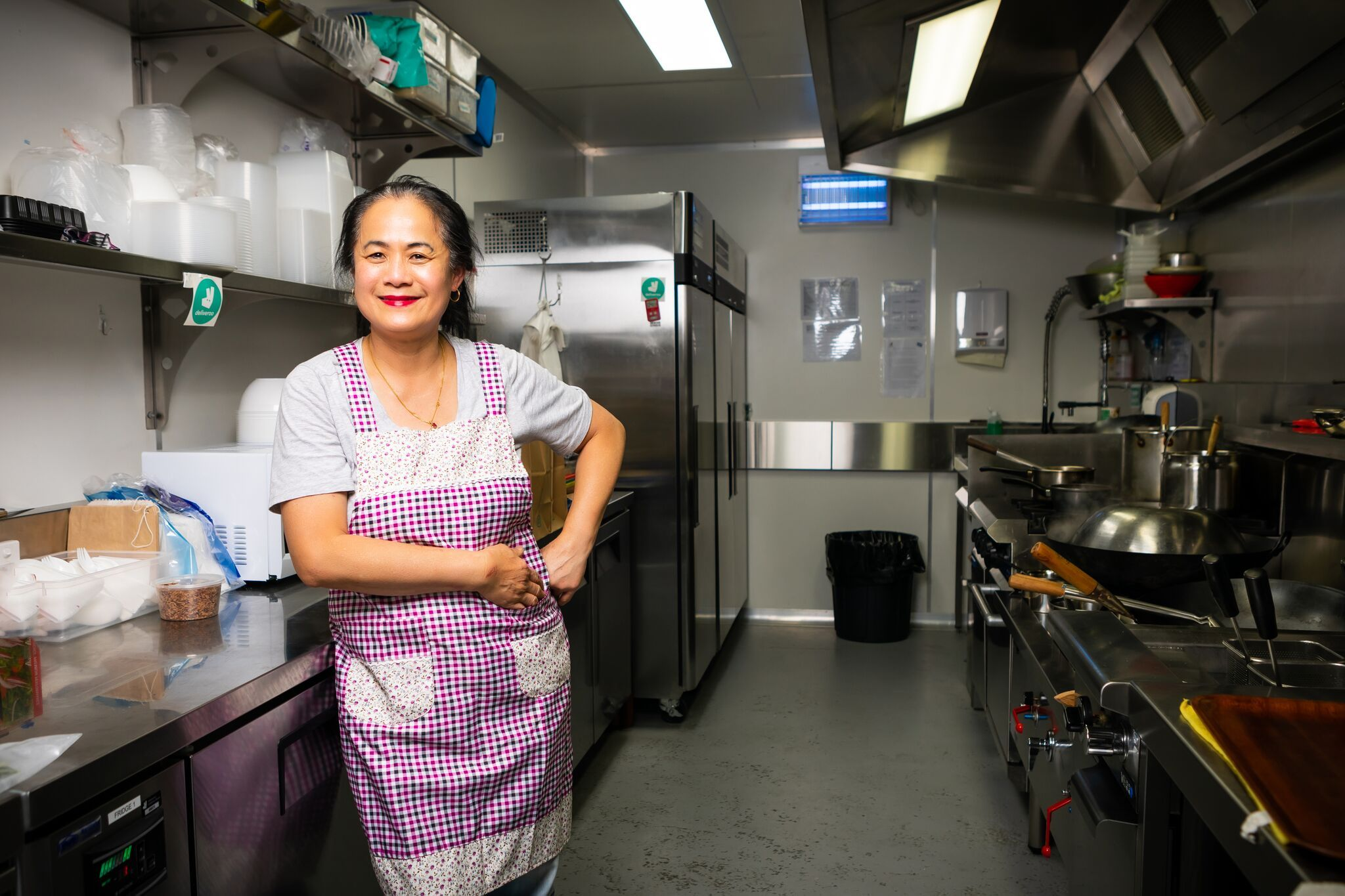 Rose Chong, Madam Kwong owner working with the Deliveroo Restaurant Revival team | Inside Franchise Business