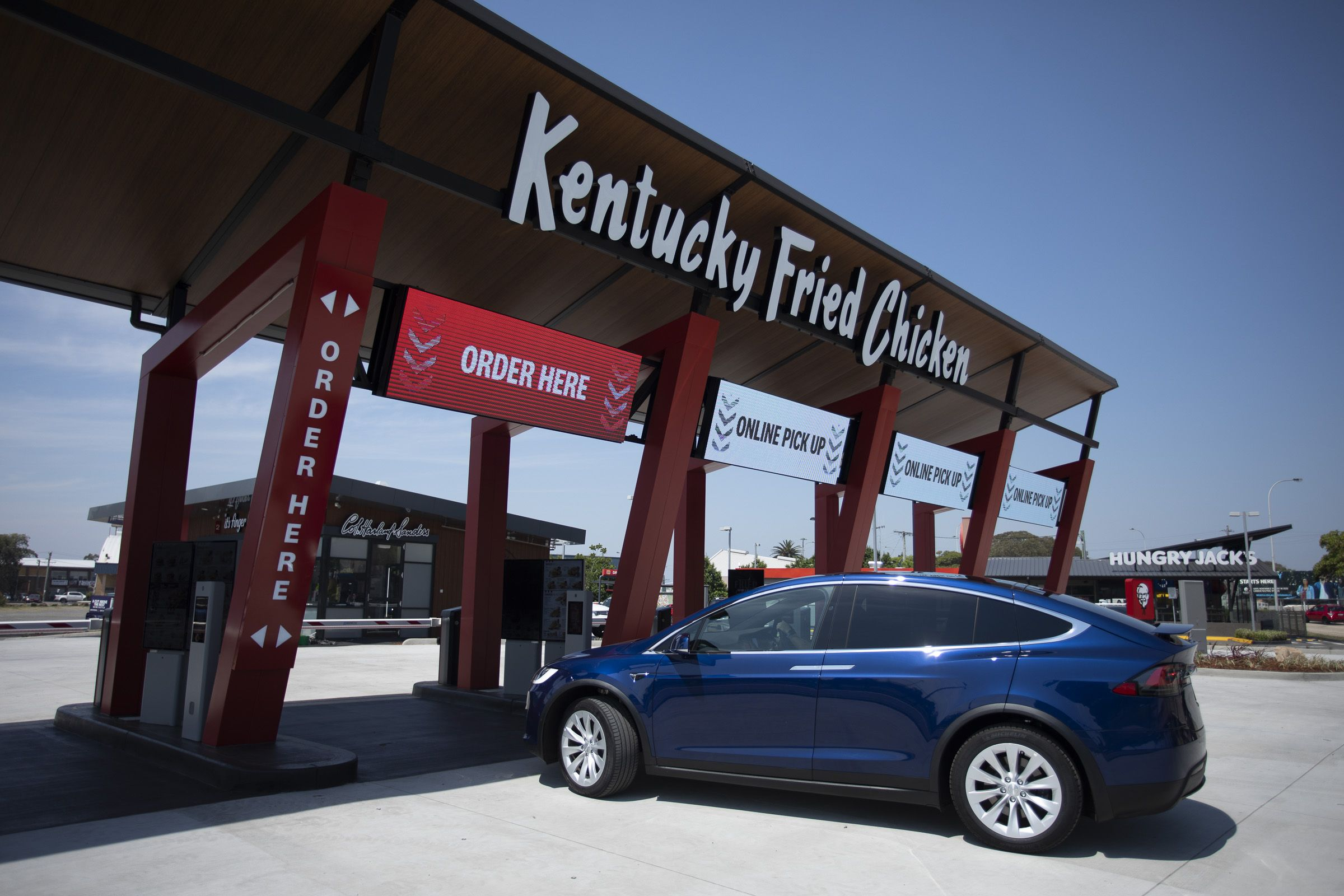 World-first KFC Drive-Through Only opens | Inside Franchise Business