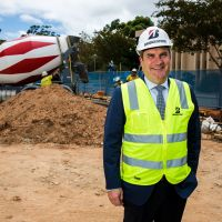 Bridgestone AusNZ MD Stephen Roche at the site of the new corporate office | Inside Franchise Business
