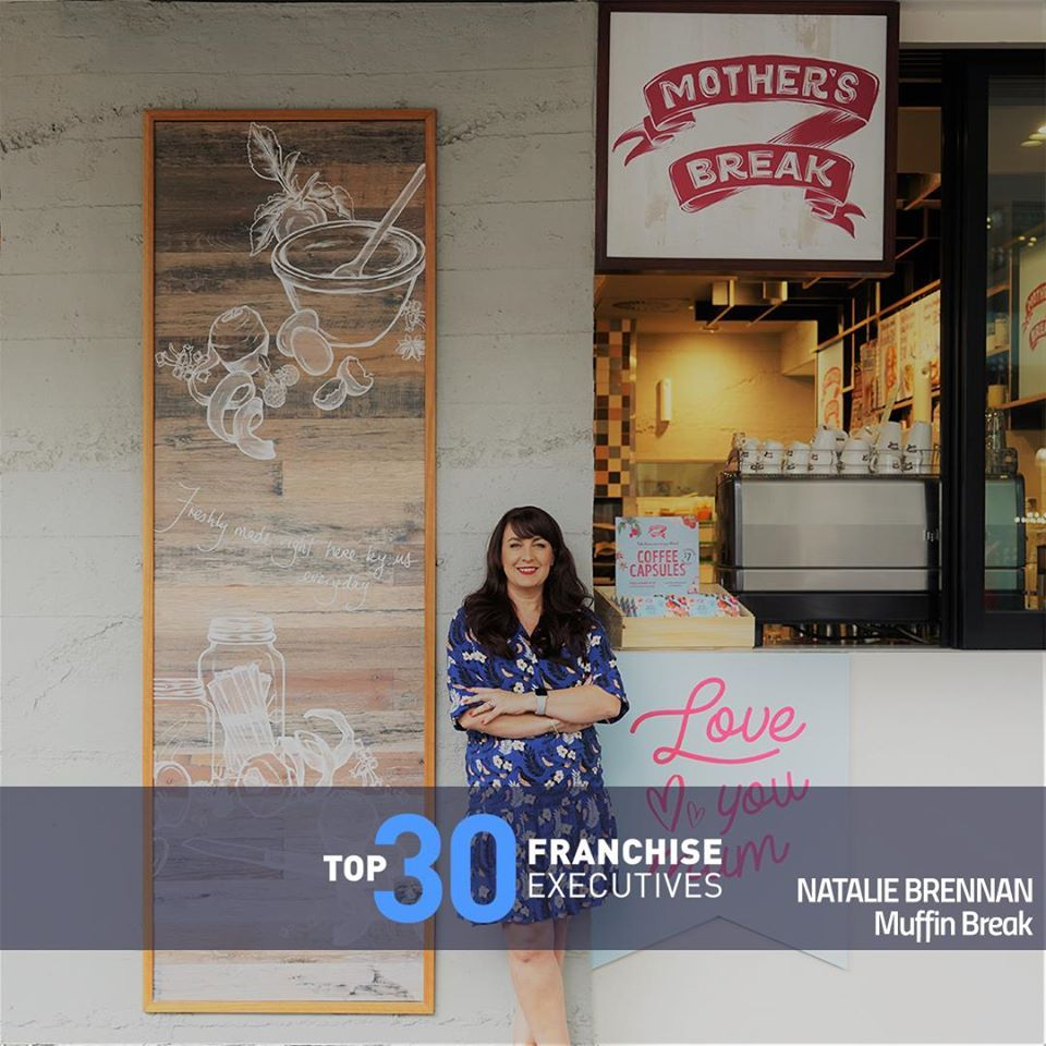 Natalie Brennan, number one in Top 30 Franchise Executives 2019 | Inside Franchise Business