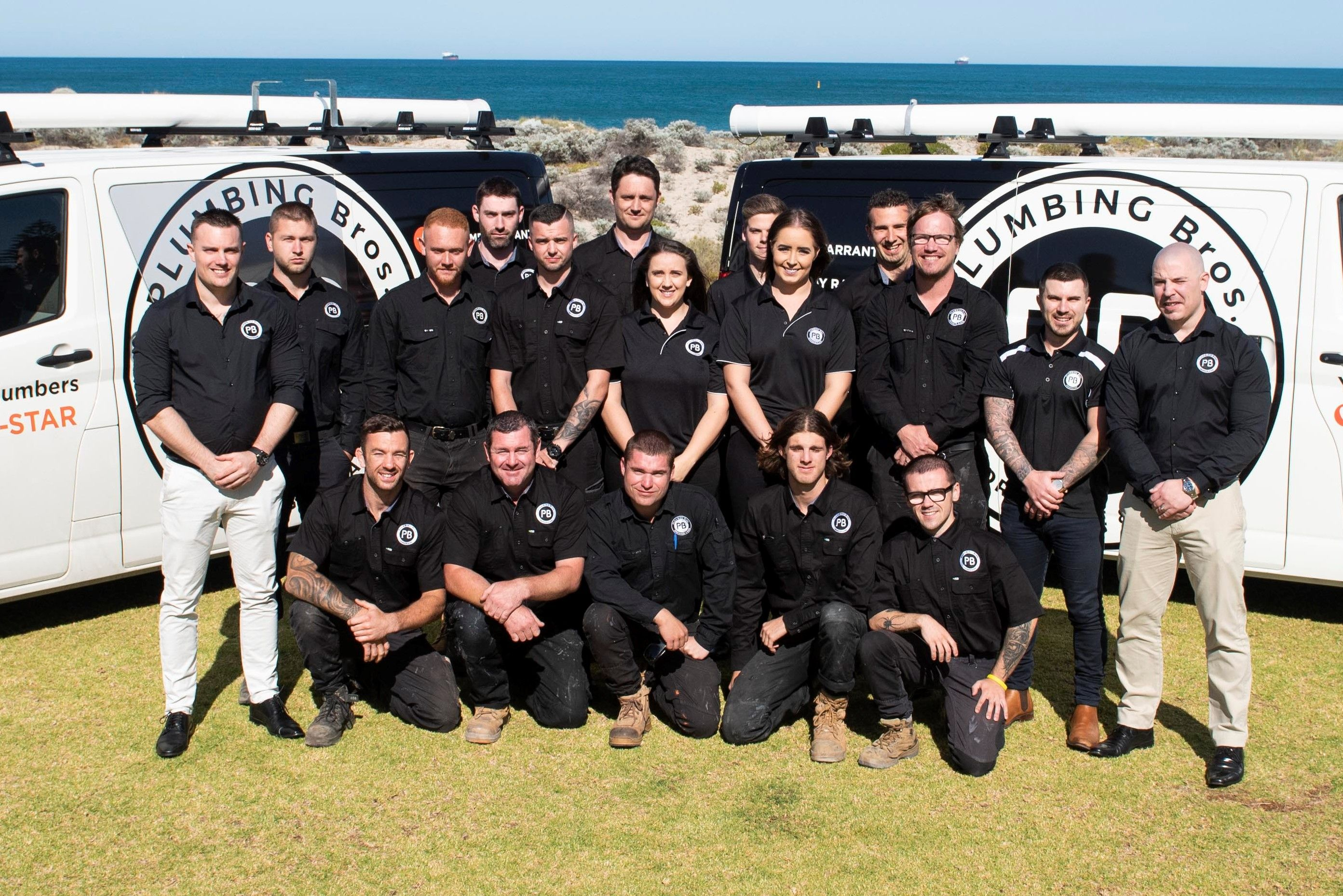 Plumbing Bros team photo | Inside Franchise Business