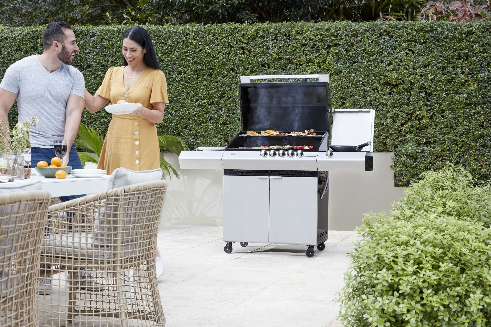 Barbecues Galore's large entrance foyer | Inside Franchise Business Executive