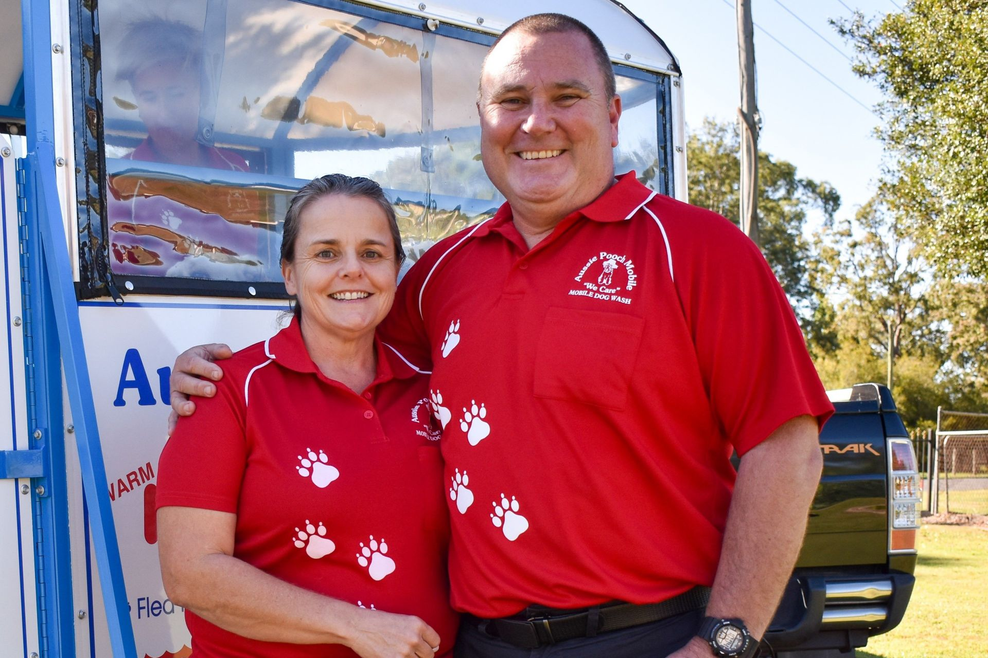 Aussie Pooch Mobile Dog Wash, Megan and Paul Walters   Inside Franchise Business Executive
