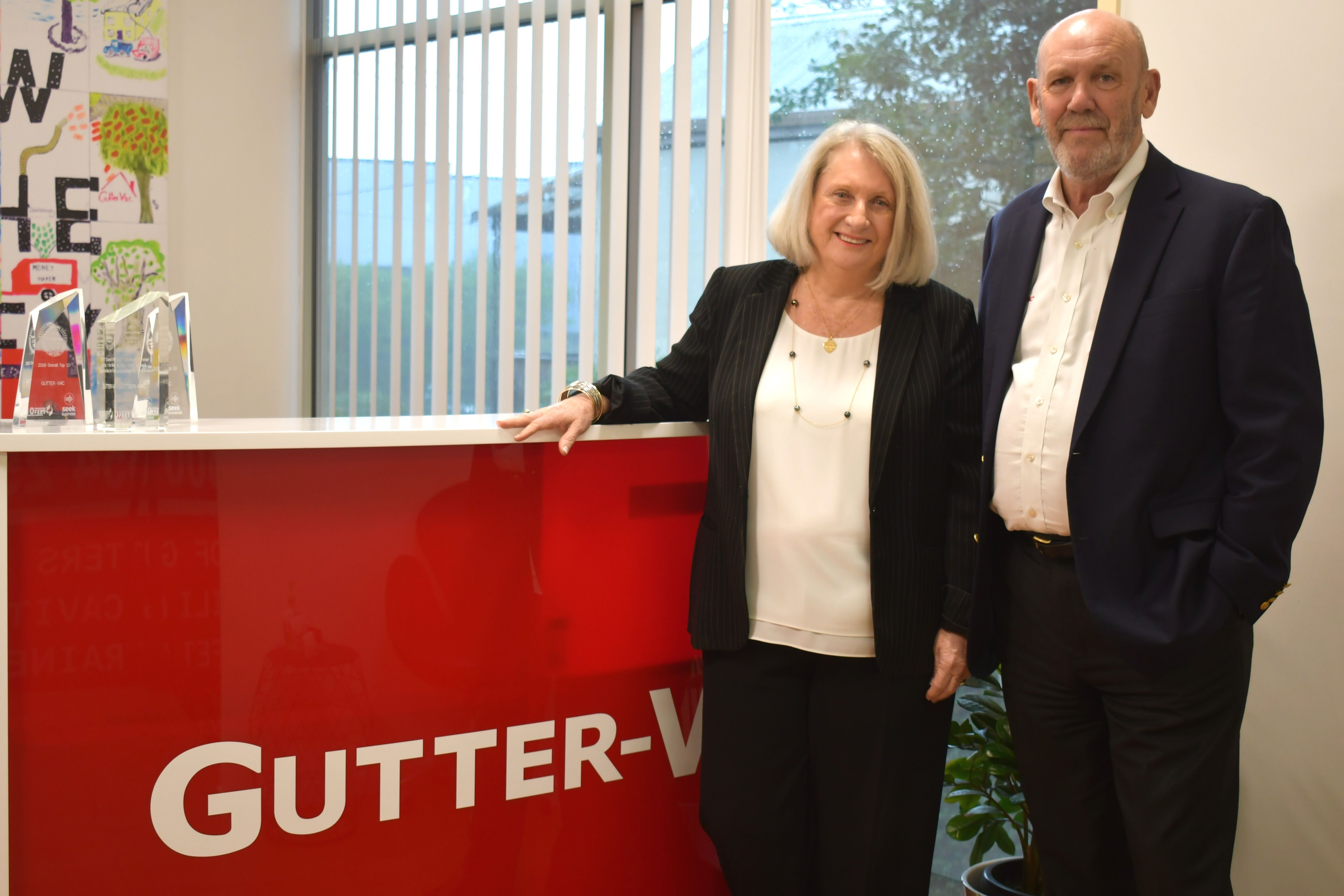 Gutter-Vac founders Anne and Warren Ballantyne | Inside Franchise Business Executive
