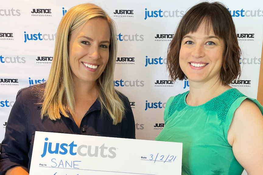 Just Cuts raises $20K for SANE Australia | Inside Franchise Business Executive