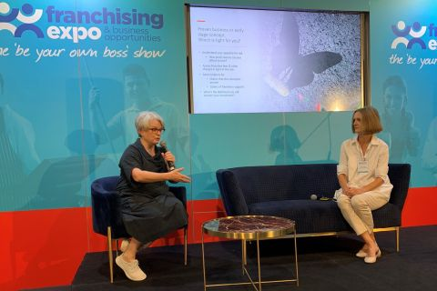 Seminars ran over both days at the expo | Inside Franchise Business Executive