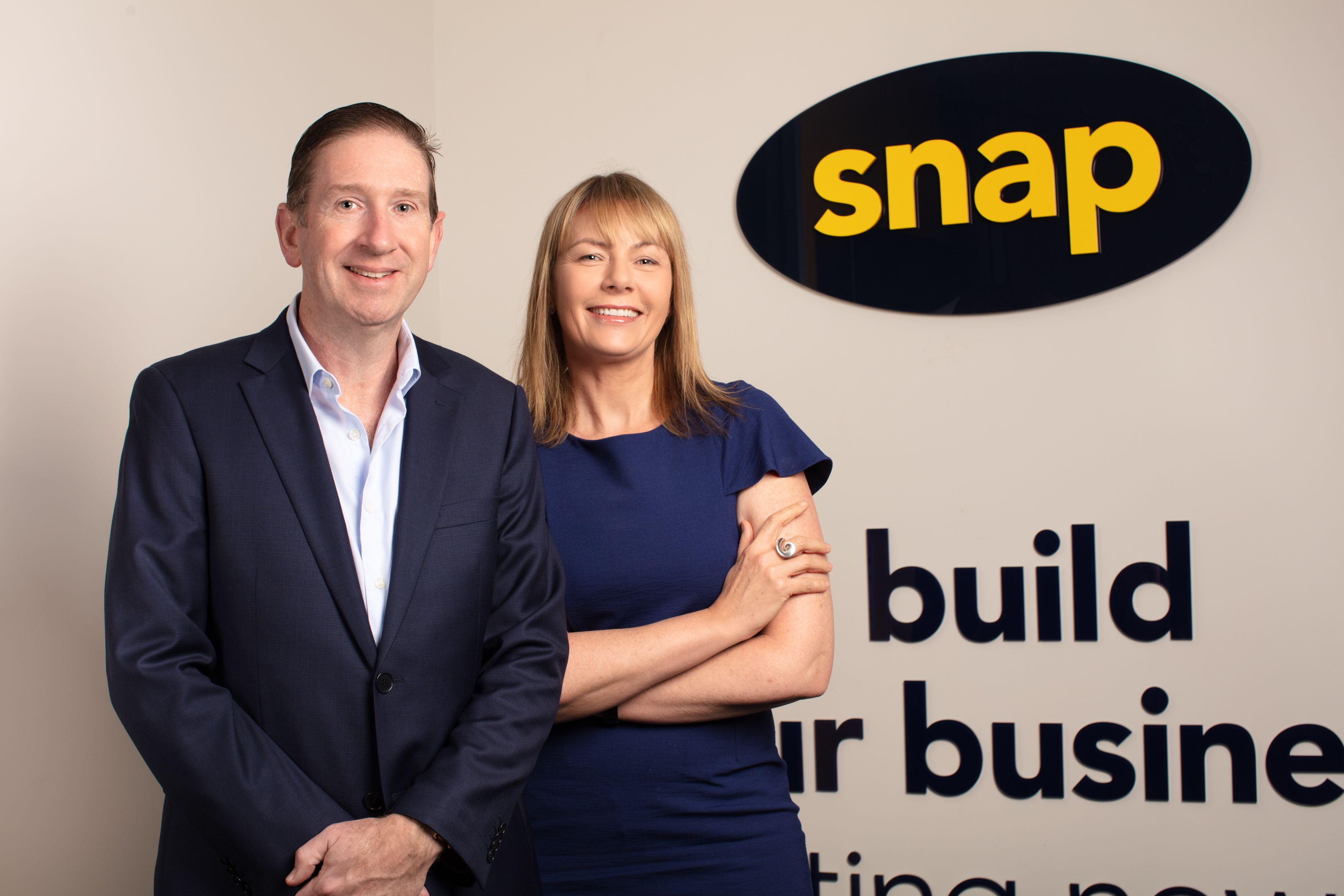 Snap CEO Richard Thame and chief growth officer Sonia Shwabsky   Inside Franchise Bsuiness Executive