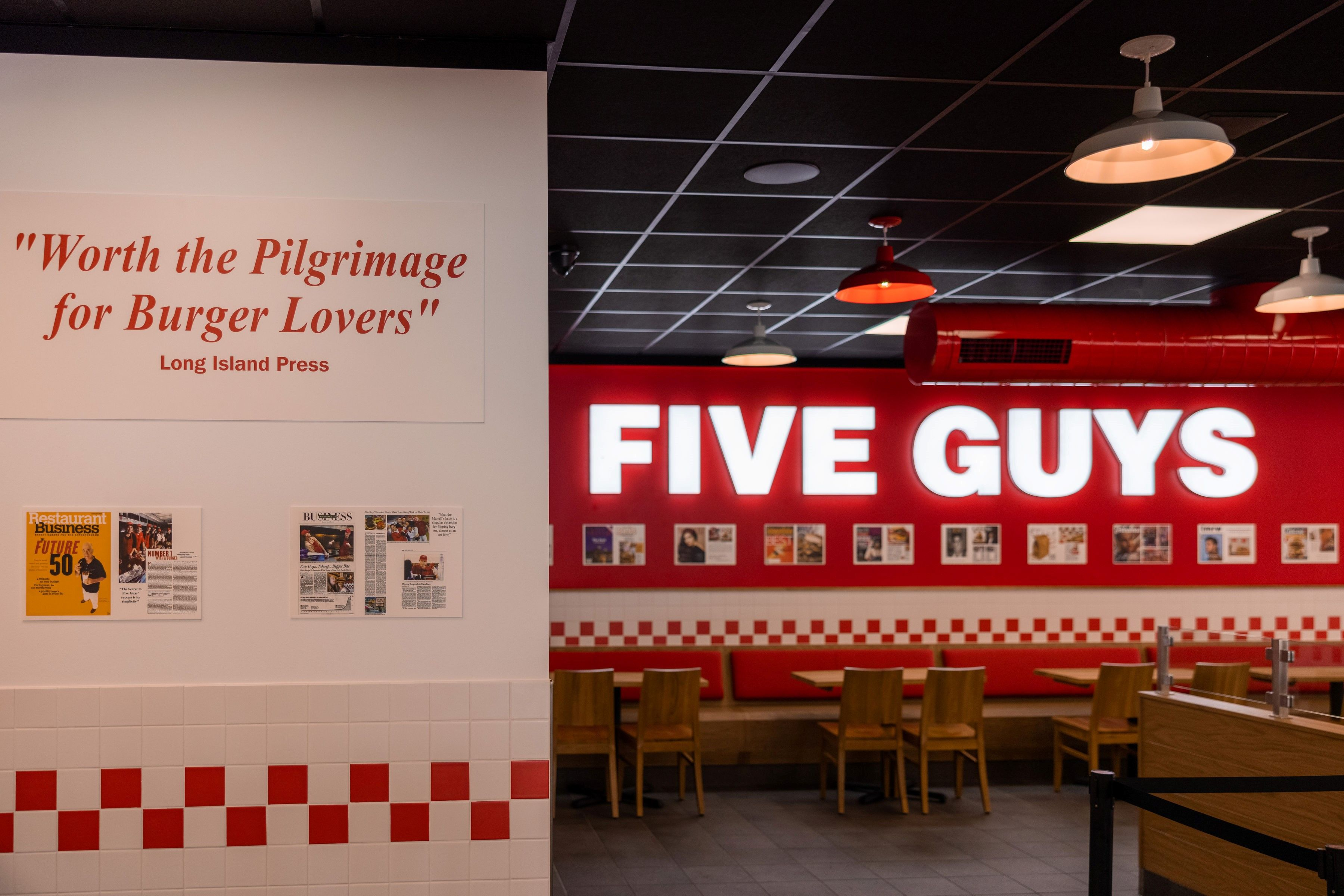 Five Guys opens in Penrith | Inside Franchise Business Executive