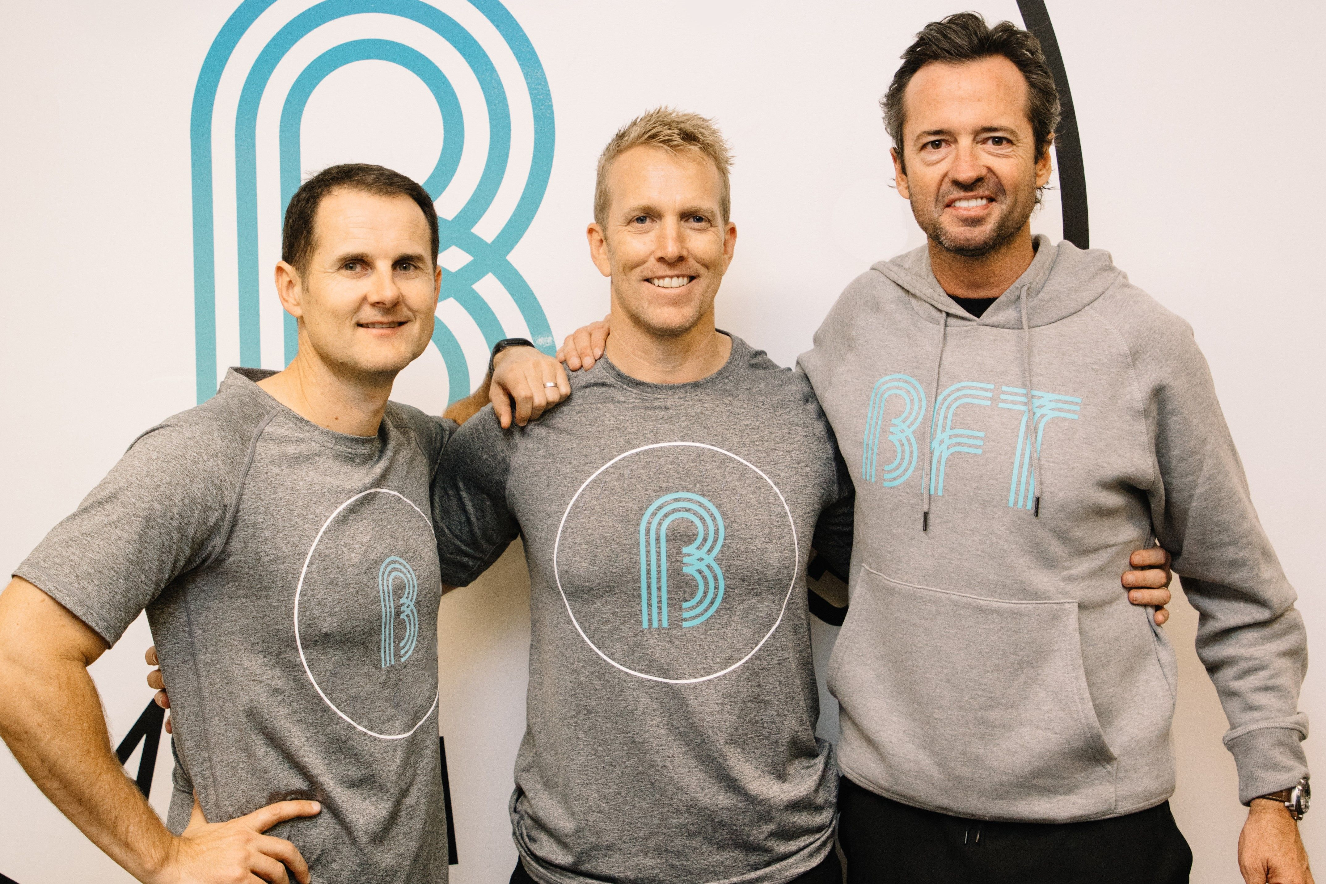 BFT founders Richard Burnet, Cameron Falloon and Hamish Lachlan | Inside Franchise Business Executive