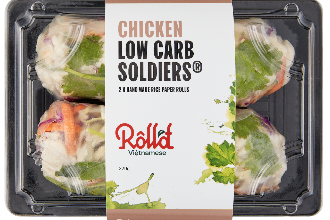 Roll'd VIetnamese Grab-and-Go for 70 more Coles stores   Inside Franchise Business Executive